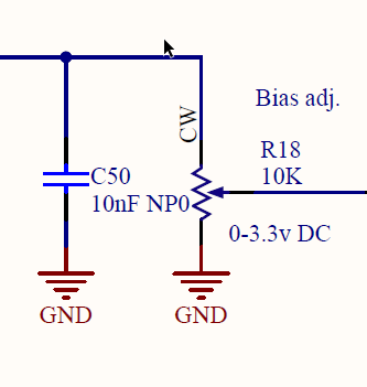 MOSFET AB bias control